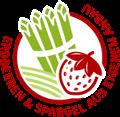 Erdbeeren und Spargel aus eigenem Anbau